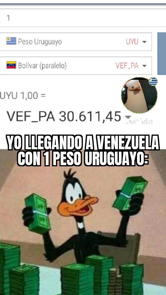 Uy mucho dinero - meme