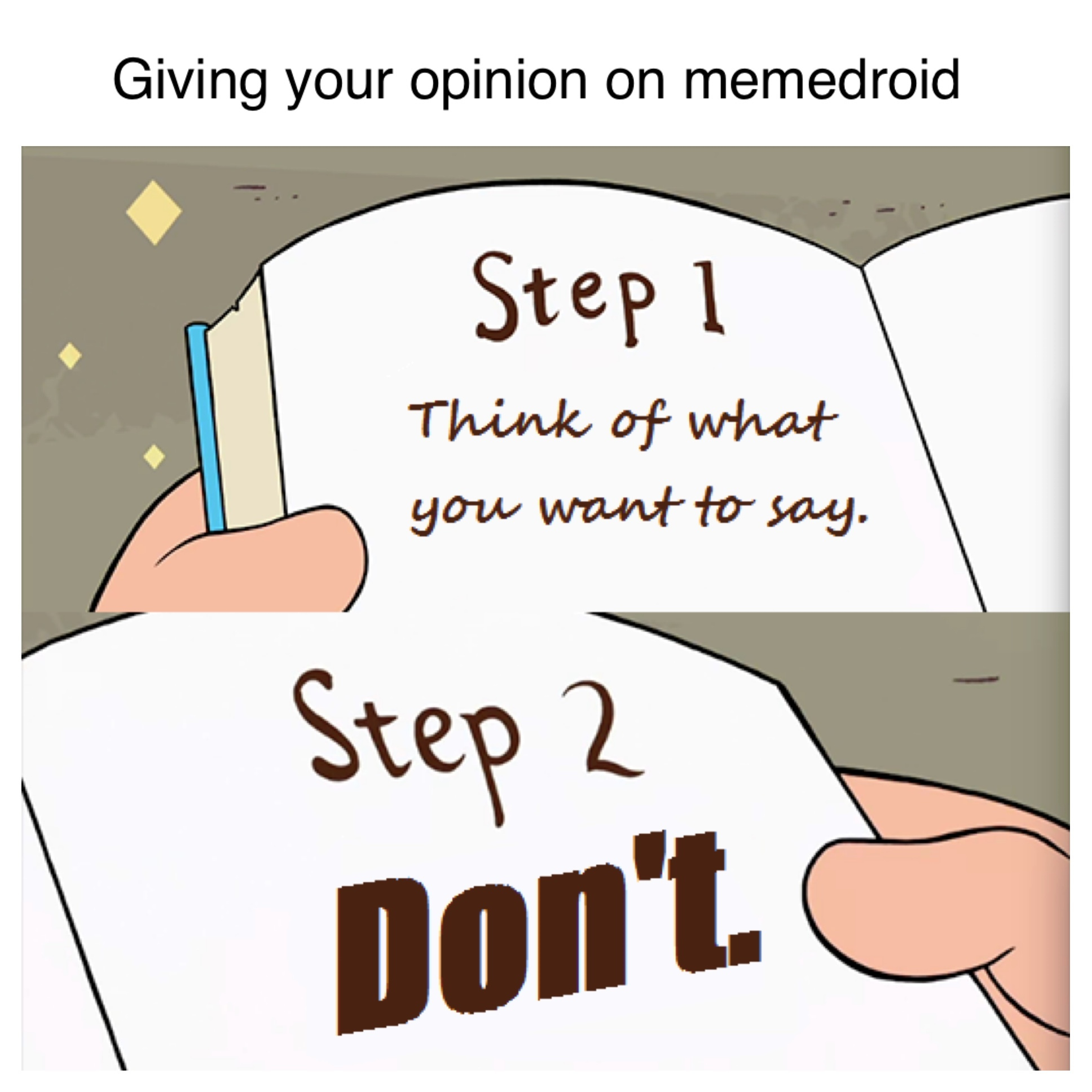 just don't - meme