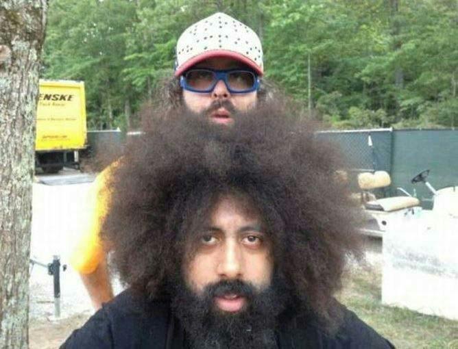 hair or beard? - meme