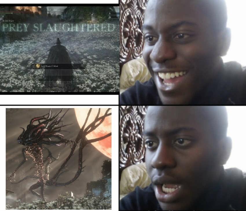 Bloodborne - meme