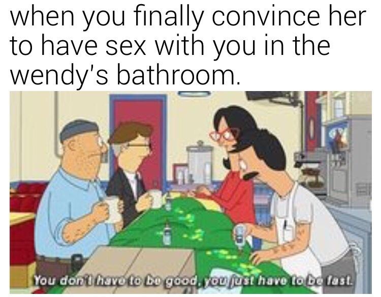 I make garbage memes