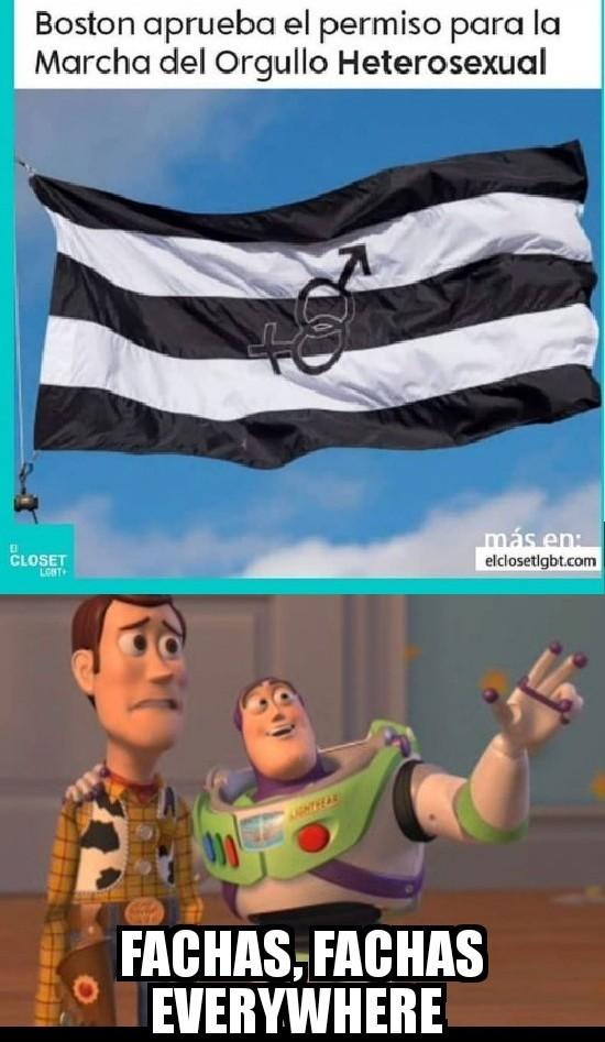 Fachas Everywhere - meme