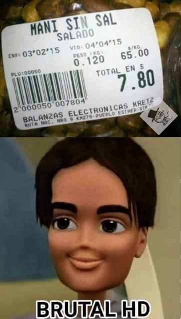7,80 me costó  el meme