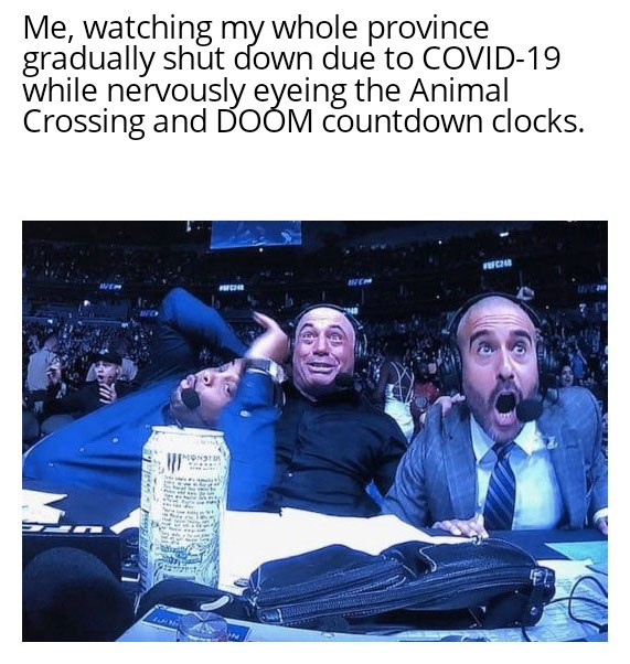 C'mon, guys. Stay open for another 3 days. That's all. - meme