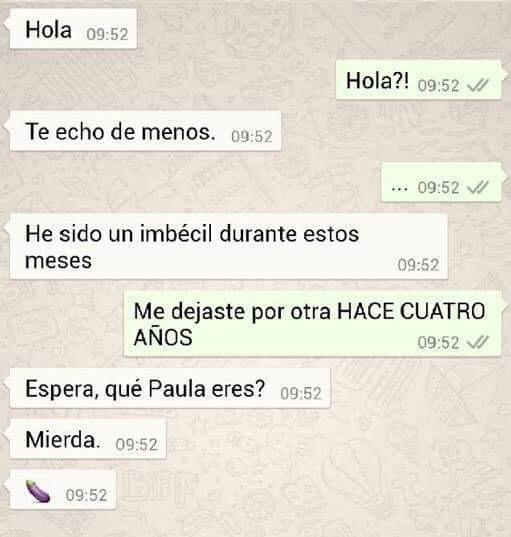 Paula?!?... D: - meme
