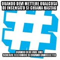 Hashtag o cancelletto?