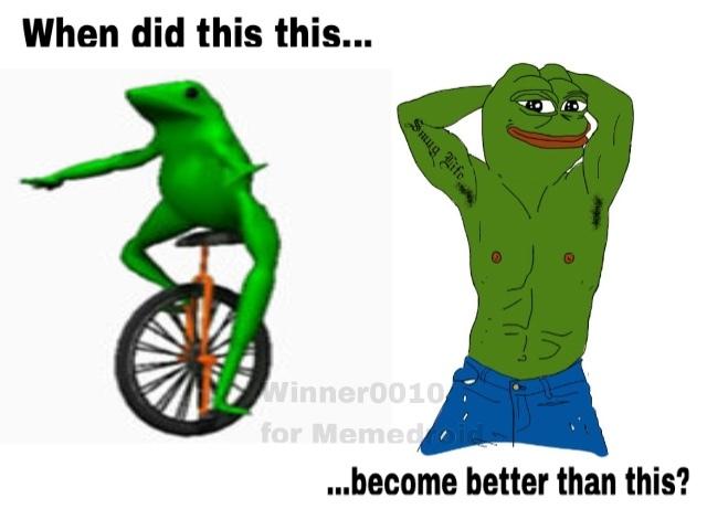 Dat Boi was a fucking mistake - meme