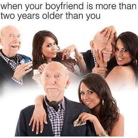 Dat age gap - meme