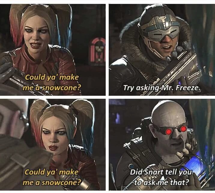 Injustice 2 is the shit - meme