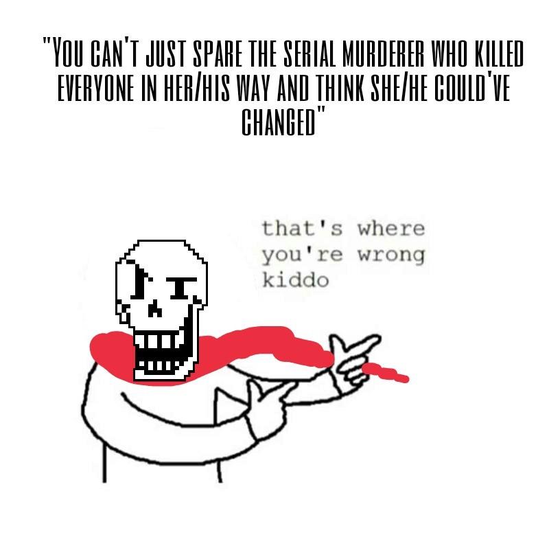 Poor Papyrus... - meme