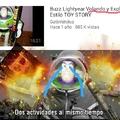 Buzz se fue al infinito y más alla :(