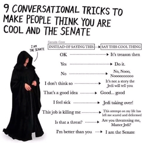 I m the SENATE!!! - meme