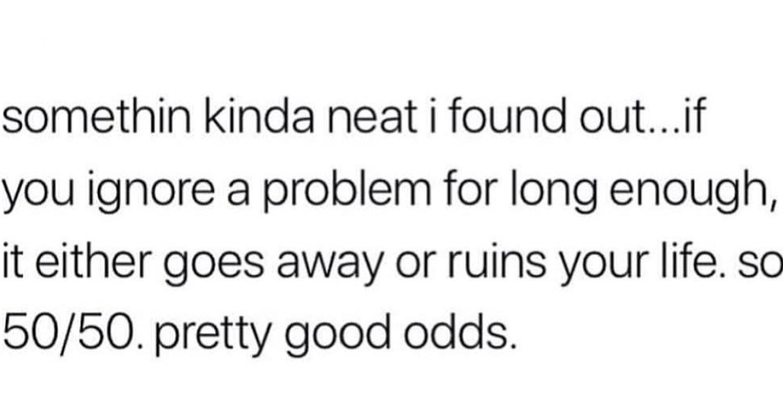 Good odds - meme