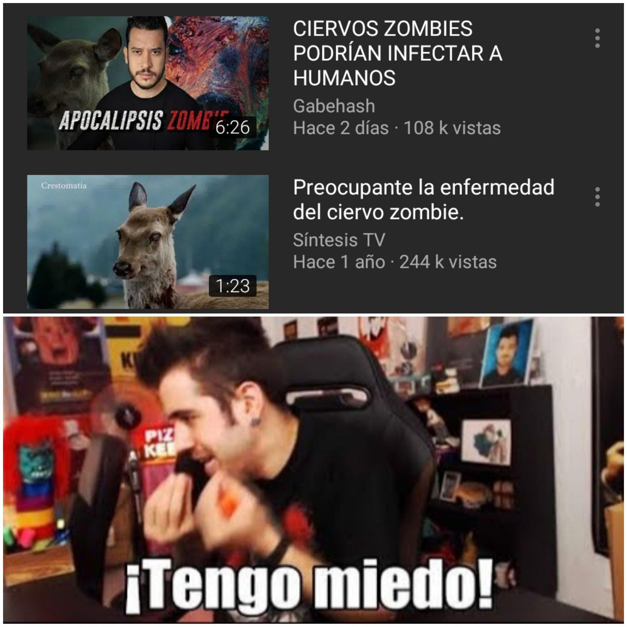 Igualito a un peli de zombies - meme