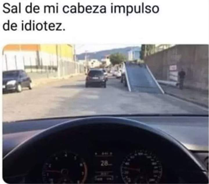 No es tiempo de need for speed - meme