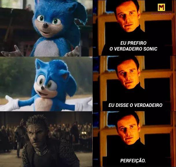 Sonic por metade do preço na deep web - meme