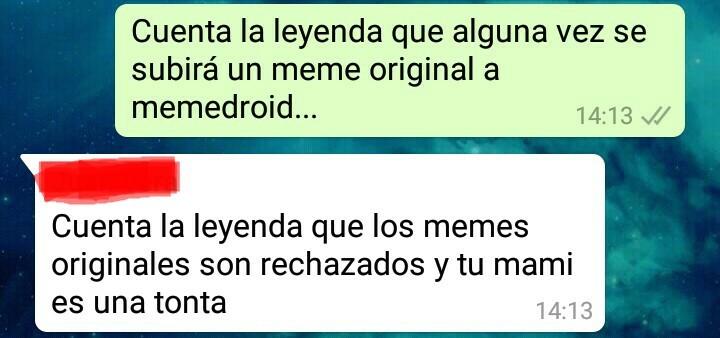 Cuenta la leyenda :v - meme