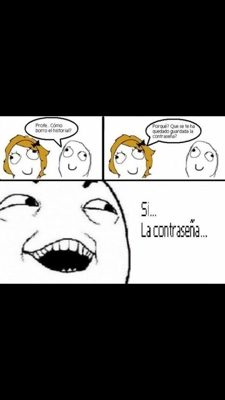 La contraseña :) - meme