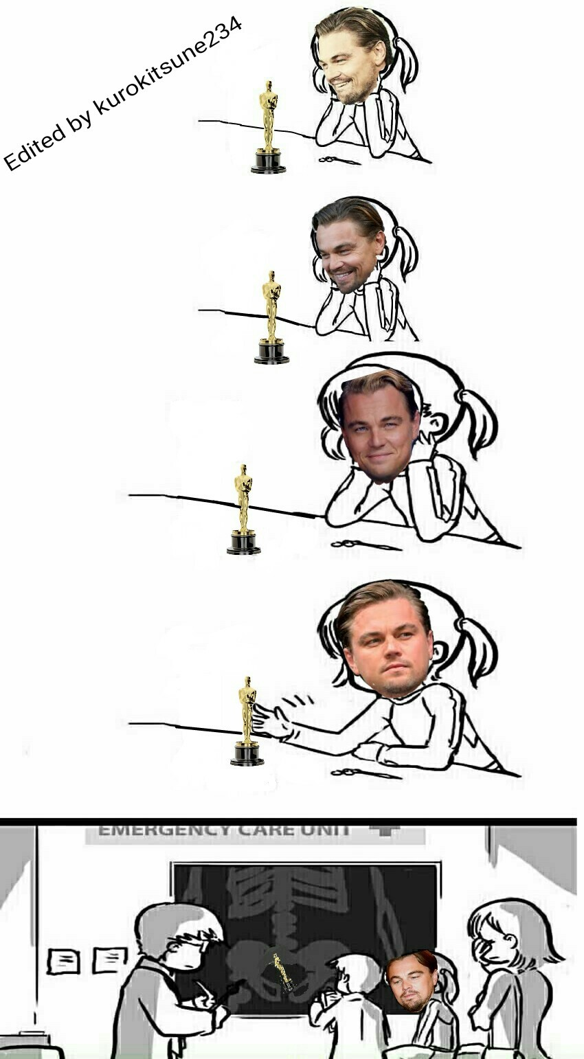 What happened after Leo got his Oscar. - meme