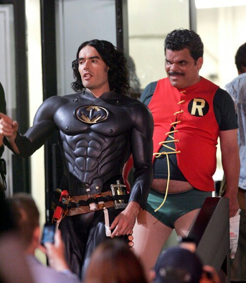 Leaked photos of the next batman and robin - meme