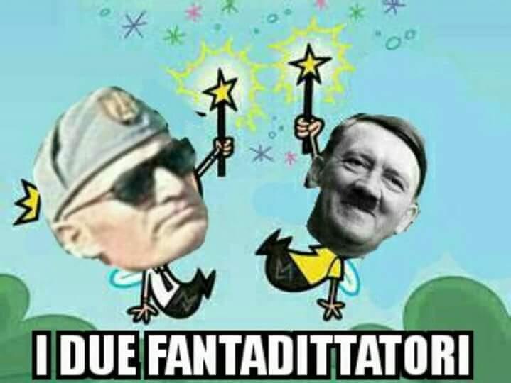 Sassolini e HitLerDammer - meme
