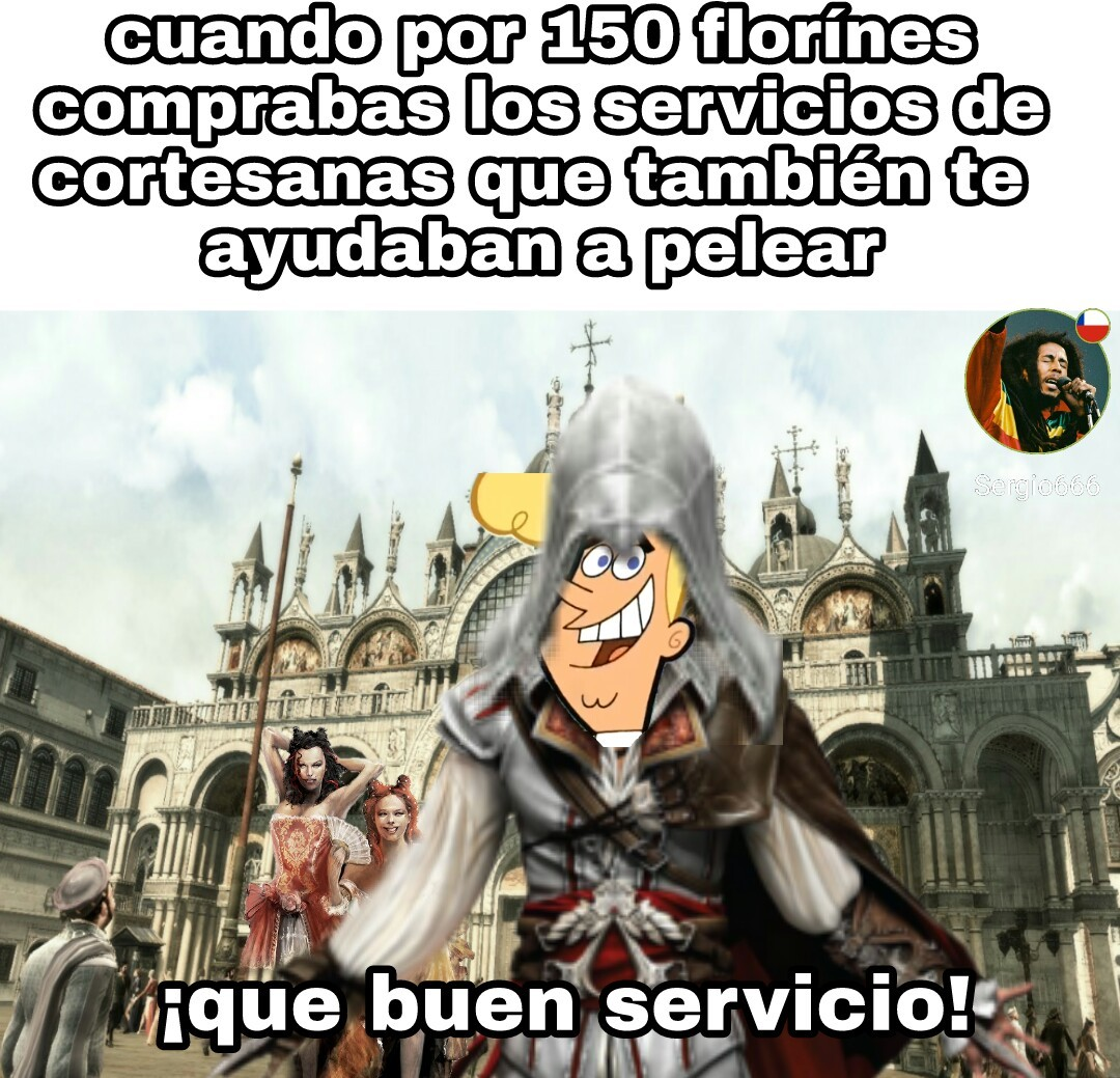 Assassin's Creed 2 - meme