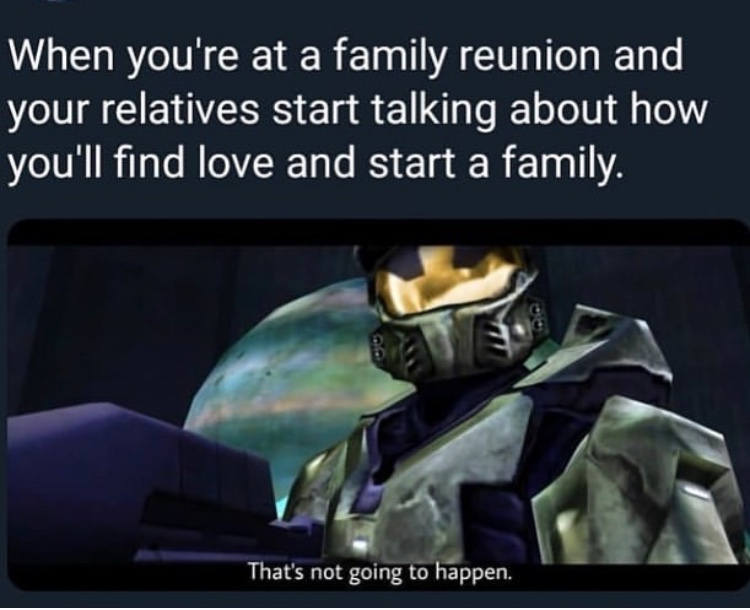 My first time playing Halo was CE on the PC. - meme
