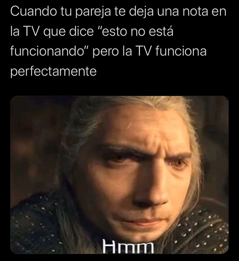 El witchero - meme