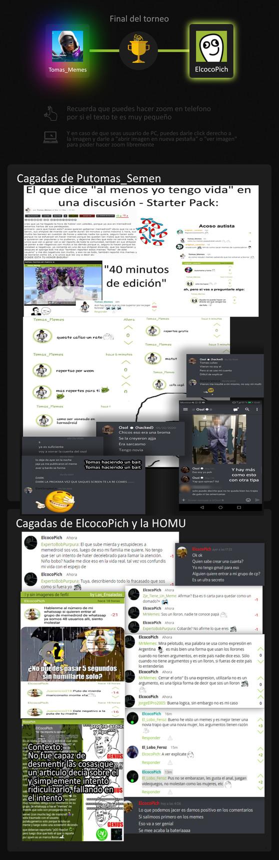 FINAL DEL TORNEO: EL PUTITO DEL BANQUITO vs ELJOTOPICH XDDDDD - meme