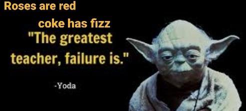 Yoda's Poetry - meme