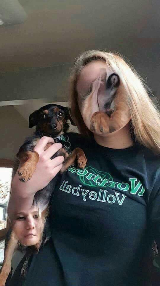 Face swap gone wrong - meme