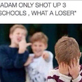 Damn adam you weak