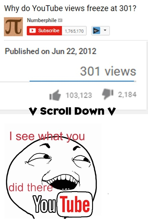YouTube being funny - meme