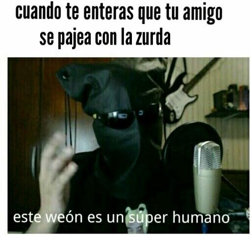 El super humano - meme