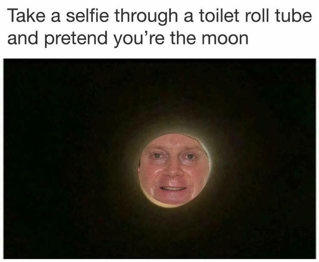 I'm the moon now - meme