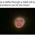 I'm the moon now