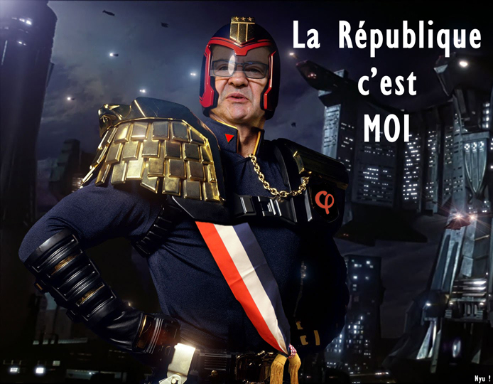 JL Dredd - meme
