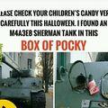 Vérifiez les sacs de bonbon de vos enfants !!!