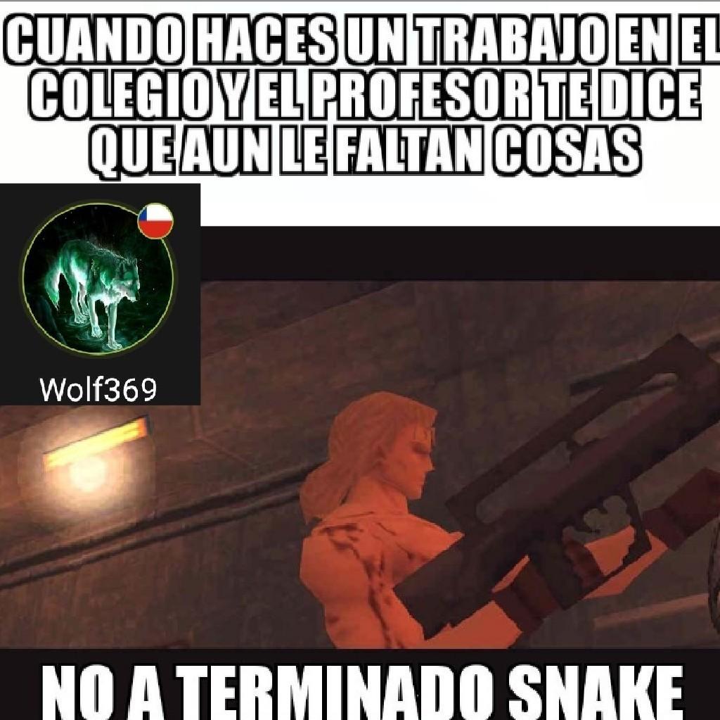 El liquid serpiente - meme