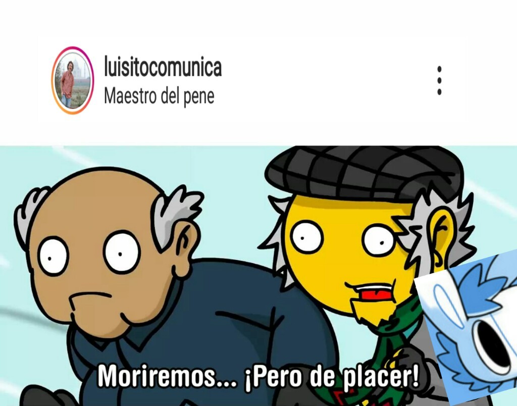 Luisito el pillo - meme