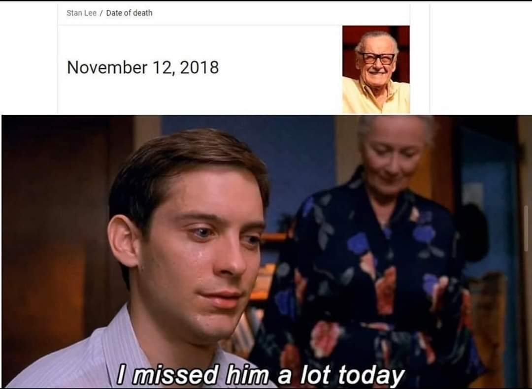 Can't believe it's been a year - meme