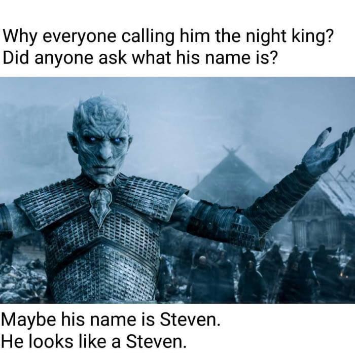 GOT Steven - meme