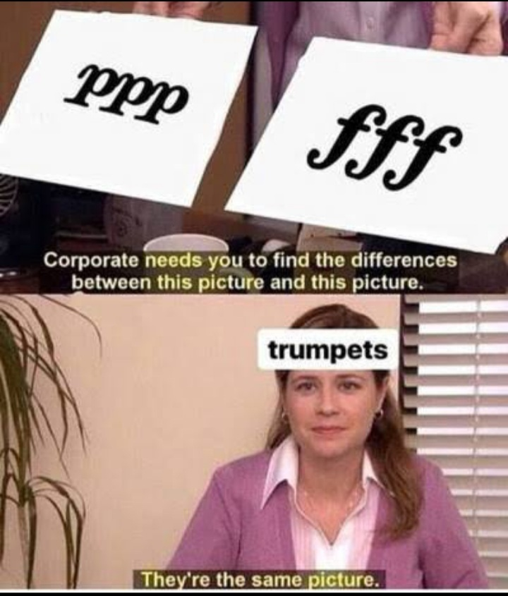 I love trumpets but my ears don't - meme