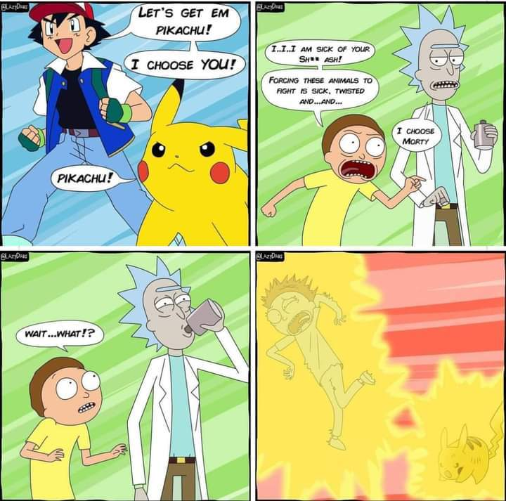 Epic crossover - meme