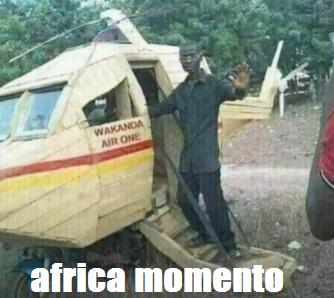 áfrica momento - meme