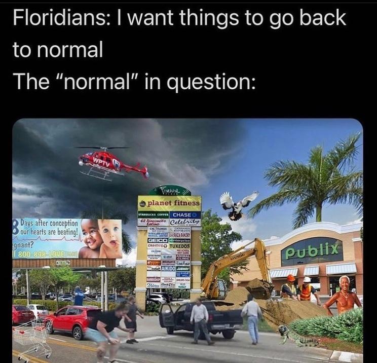 classic Florida - meme