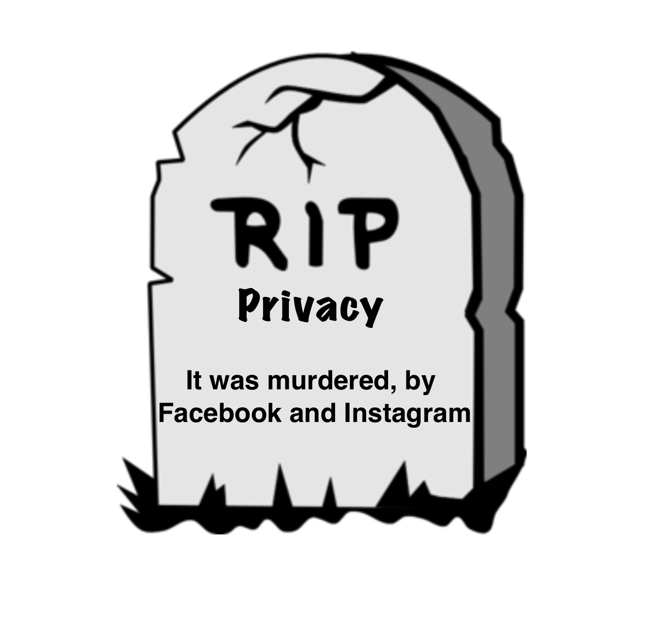 Rest in peace, privacy - meme