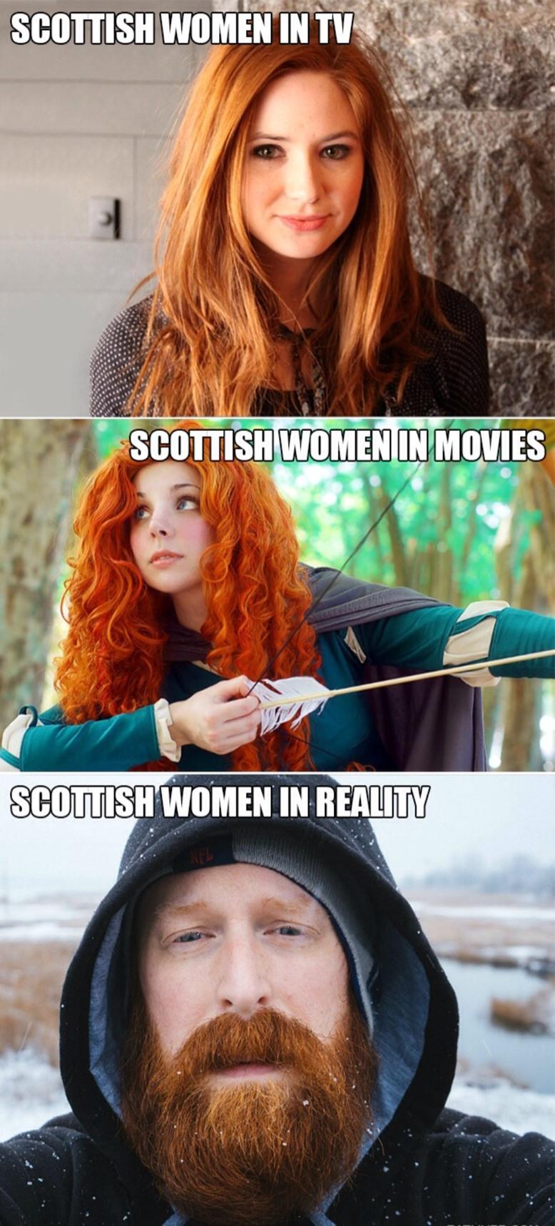 Scottish people love me I know... - meme