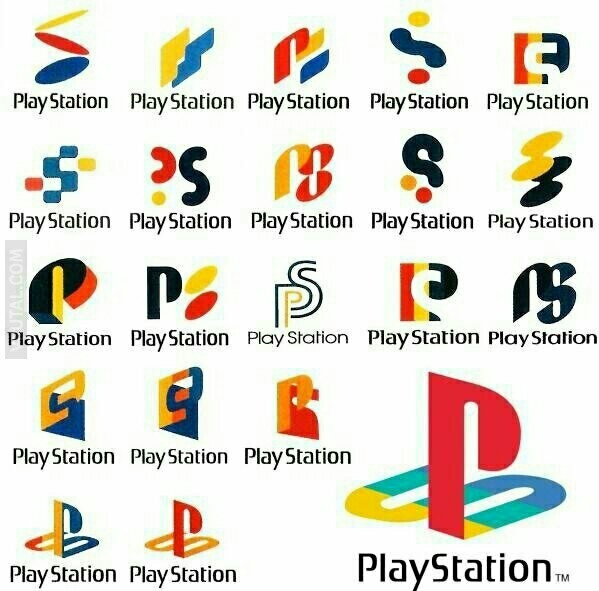 Los diseños de Playstation - meme
