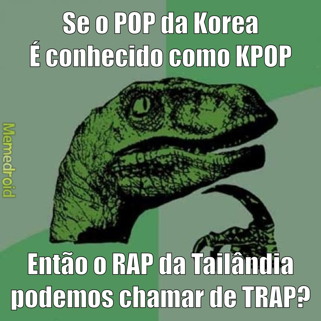 Philosoraptor RAP ou POP? - meme